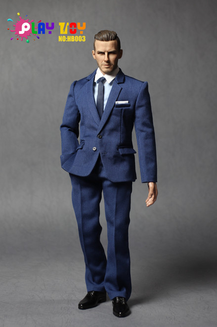 [PT-HB003] Play Toy Stylish Man in Suit 1:6 Action Figure Accessories