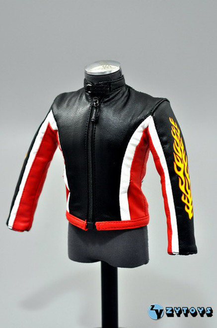 """[ZY-7044] ZY Toys Biker Jacket Set A for 12"""" Tall Action Figures"""