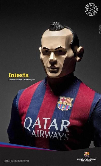 [ZC-164] ZC World FCBarcelona Art Edition2014/15 - Iniesta Soccer Player
