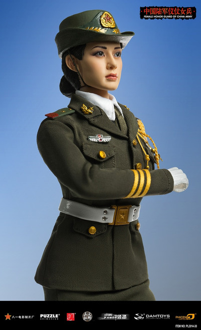 [PL-2014-30] Phicen Limited Female Honor Guard from China Army 1:6 Scale Female Figure Boxed Set
