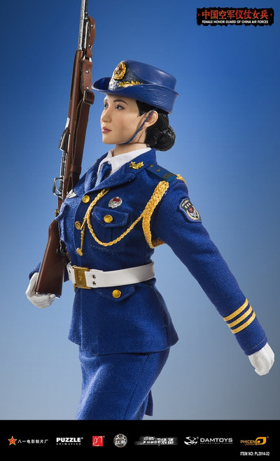[PL-2014-32] Phicen Limited Female Honor Guard from China Air Force 1:6 Scale Female Figure Boxed Set