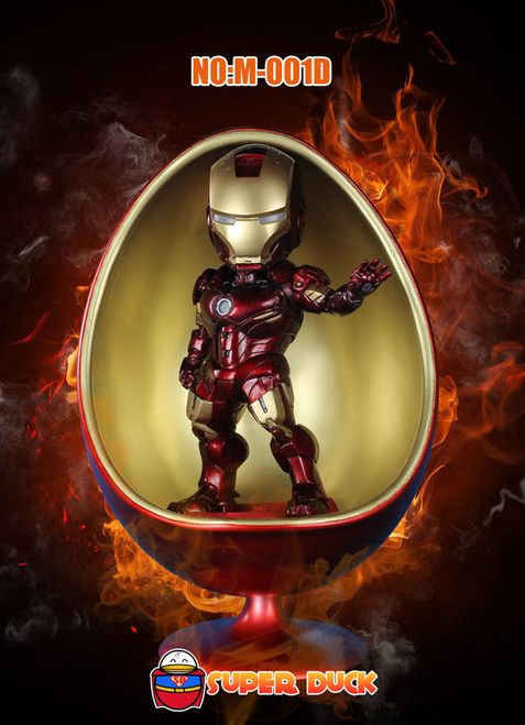 [SUD-M001D] Super Duck 1:6 Red Metallic Egg Chair