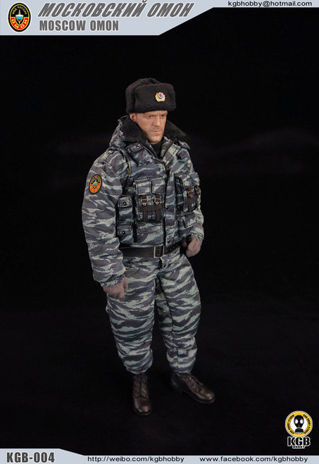 [KGB-004] KGB Hobby Moscow Omon Police Action Figure Accessories