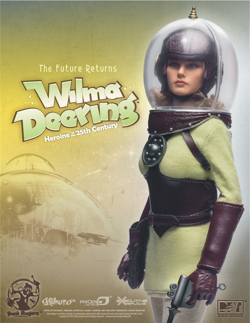 [PL-2014-49] Wilma Deering Heroine of the 25th Century 1/6th Action Doll By Phicen Limited