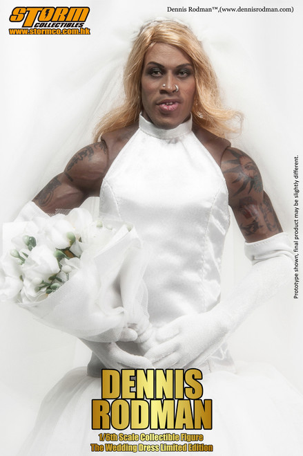 """[SM-1402SE] Storm Collectables I'm Dennis Rodman """"The Wedding Dress"""" Special Edition 1/6 Collectible Figure"""