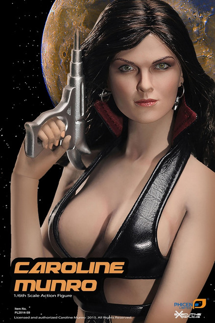 [PL-2014-59] Phicen Limited Caroline Munro 1:6 Collector Figure Boxed Set