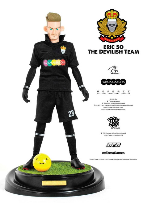 [ZC-174] ZCWO 1:6 Eric So Papamamason The Devilish Team X BFB - D.B.HAM Designer Figure