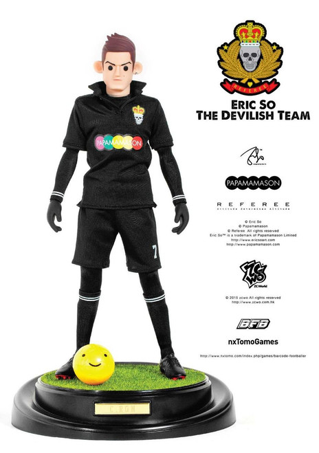 [ZC-175] ZCWO 1:6 Eric So Papamamason The Devilish Team X BFB - C.RON Designer Figure