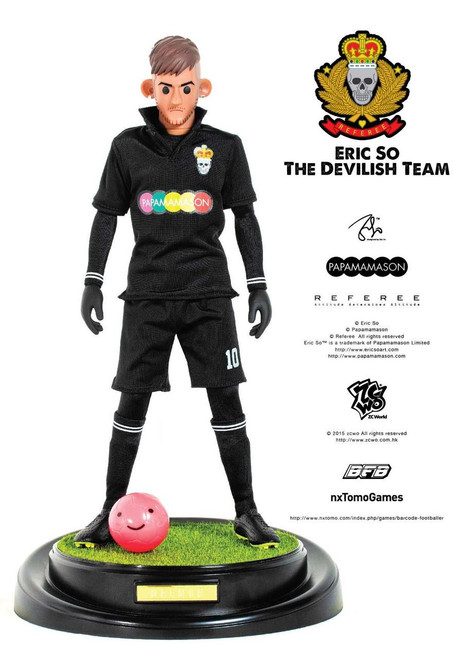 [ZC-176] ZCWO 1:6 Eric So Papamamason The Devilish Team X BFB - NEEMAR Designer Figure