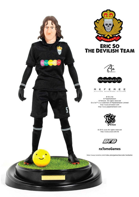 [ZC-177] ZCWO 1:6 Eric So Papamamason The Devilish Team X BFB -  PUYOLL Designer Figure