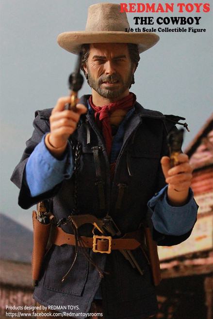 [RMT-005] Redman - 1:6 Scale The Outlaw COWBOY Collectible Figure