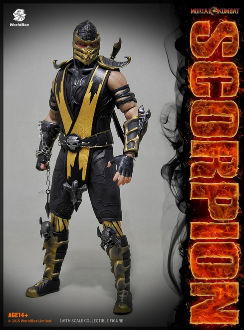 [WB-SCORPION] World Box 1:6 Scorpion Collectible Boxed Figure