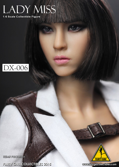 [FGCDX-006] Flirty Girl Lady Miss 1:6 Scale Collectible Woman Figure