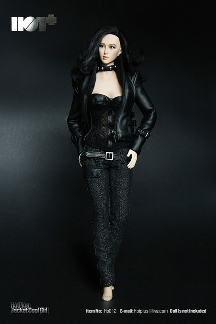 [HP-012] HotPlus Jacket Cool Girl 1:6 Female Figure Accessory