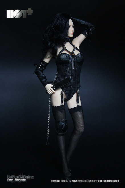 [HP-013] HotPlus Sexy Lingerie in Black 1:6 Female Figure Accessory