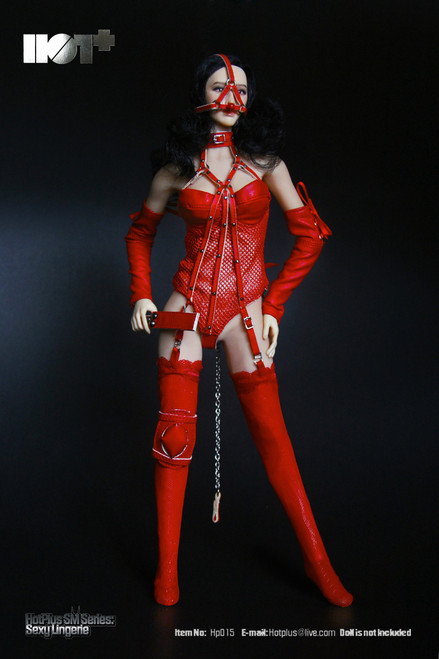 [HP-015] HotPlus Sexy Lingerie in Red 1:6 Female Figure Accessory