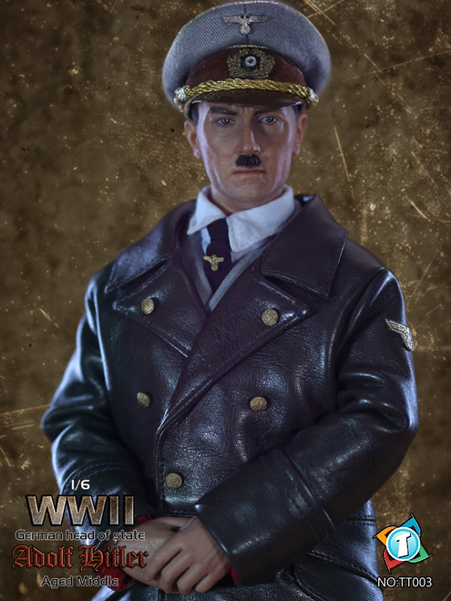 "[TIT-003] TIT Toys WWII German Head Of State ""Adolf Hitler"" Middle Aged Figure"