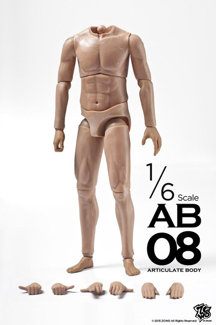 [ZC-187] ZCWO 1:6 Muscular Articulate Action Figure Body AB08