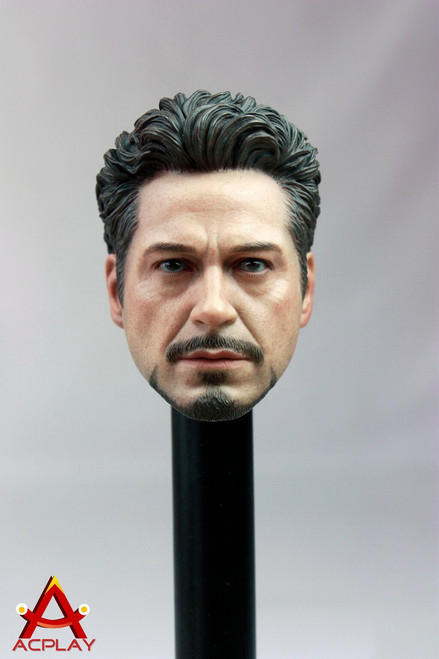 [AP-1005] ACPLAY 1:6 Character Head 05 for Hot Toys, DAM Toys and TTL Action Figure Bodies