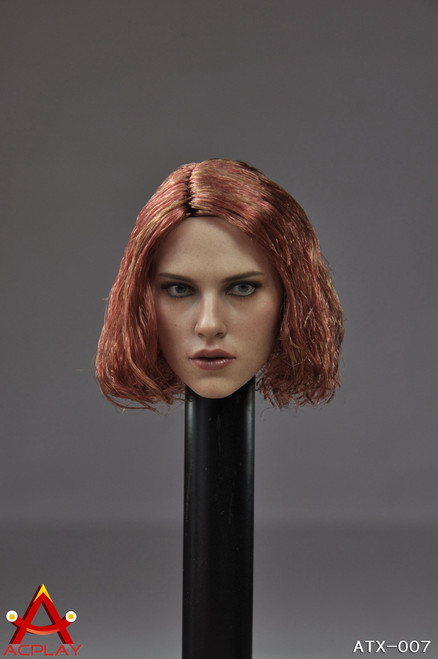 [AP-ATX007] ACPLAY Female Character Head with Implant Hair
