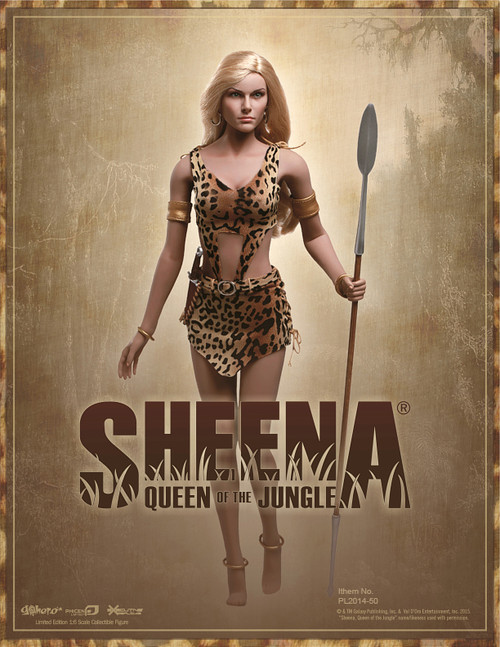 [PL-2014-50] Phicen Limited Sheena, Queen of the Jungle Boxed Action Doll