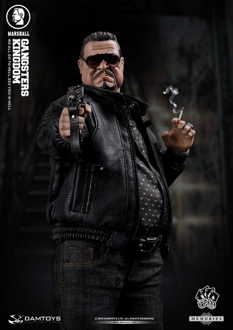 "[DAM-GK002MX] DAM TOYS Gangsters Kingdom - Memory Article Fat Man 12"" Action Figure"
