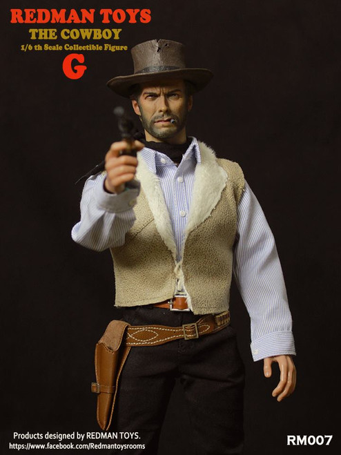 [RMT-007] Redman 1:6 Scale The COWBOY G Collectible Figure