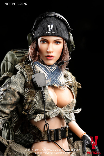 [VCF-2026] Very Cool ACU Camo Female Shooter 1:6 Boxed Figure