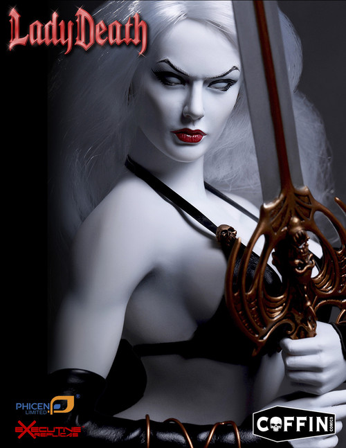 [PL-2015-76] Phicen Limited Fictional Goddess Lady Death 1:6 Collector Comic Figure