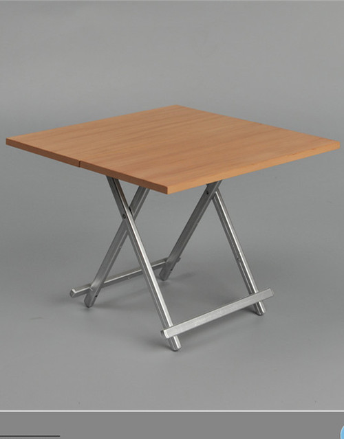 [ZY-15-21B] ZY Toys Folding Table in Brown 1:6 Scale Furniture