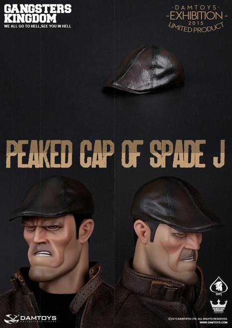 [DAM-JHAT] DAM TOYS Peaked Cap of Spade J Gangsters Kingdom Series