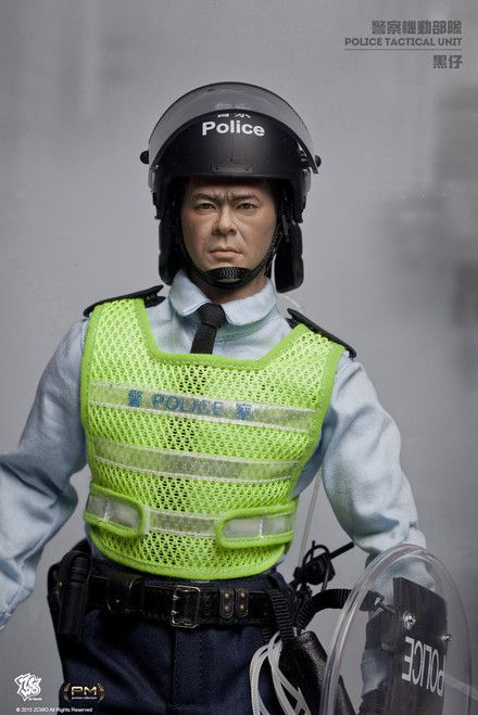 [ZC-189] ZC World 1:6 Hong Kong PTU Sergeant Black Action Figure