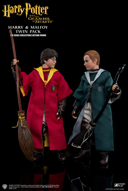 [SA-0017] Star Ace Harry & Draco Malfoy Quidditch Twin Pack 1:6 Collector Figure