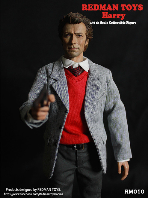 [RMT-010] Redman 1:6 Scale Inspector Harry Collectible Figure