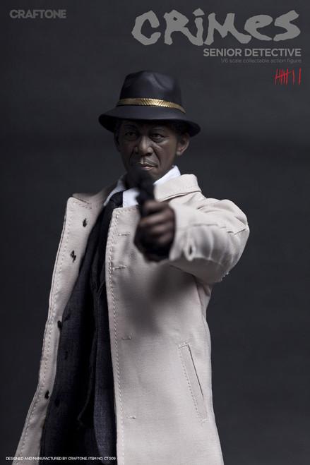 [CT-009] CRAFTONE Crime Senior Detective 1:6 Scale Boxed Figure