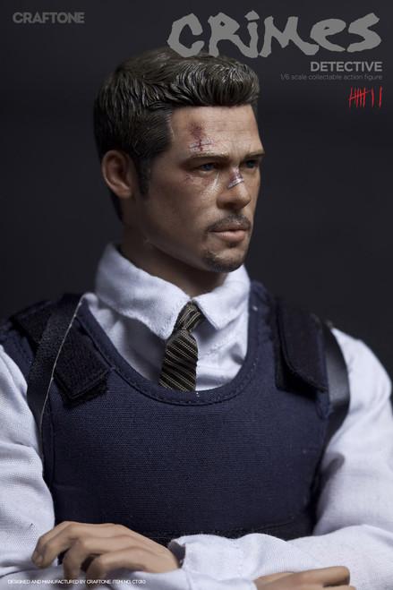 [CT-010] CRAFTONE Crime Detective 1:6 Scale Boxed Figure
