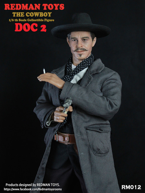 "[RMT-012] Redman 12"" The Cowboy Doc 2 Collectible Figure"
