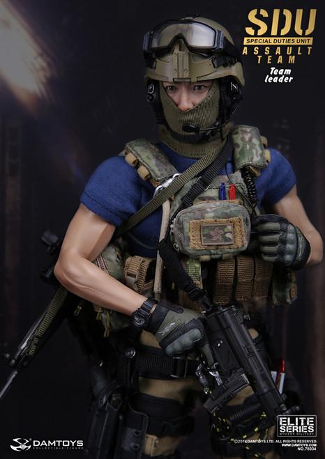 [DAM-78034] DamToys Kong Kong SDU (Special Duties Unit) Flying Tigers 飛虎隊 Assault Team Leader