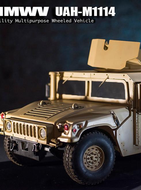 [GT-016-008-MVHUM] Go-Truck 1:6 Scale HMMWV UAH-M1114 Metal Vehicle
