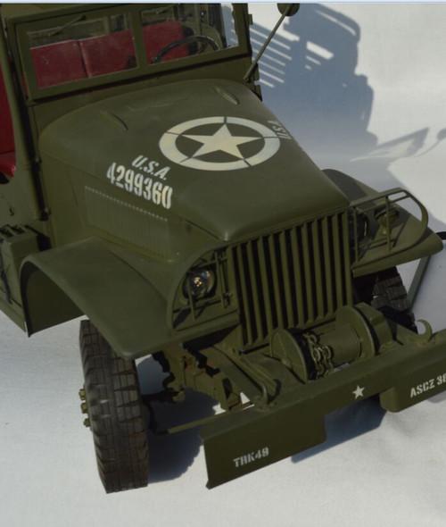 [GT-015-GMC] Go-Truck GMC CCKW 2½ Ton 6×6 U.S. Army Cargo Truck