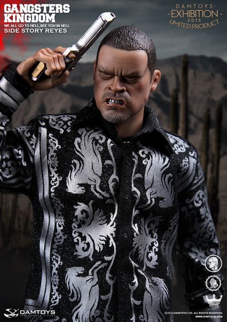 [DAM-GKS002] DAMTOYS Gangster Kingdom Side Story Reyes Figure CICF EXPO Exclusive