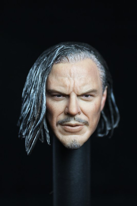[MIS-H014] 1:6 Custom Male Head with Long Hairstyle