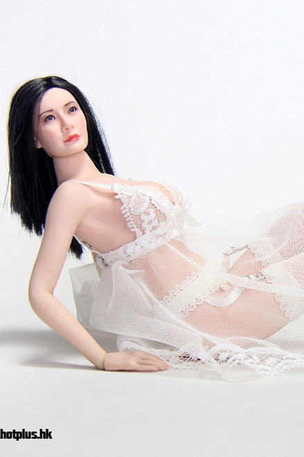 [HP-029] HotPlus White Sexy Lace Lingerie Set for 1:6 Girl Figures