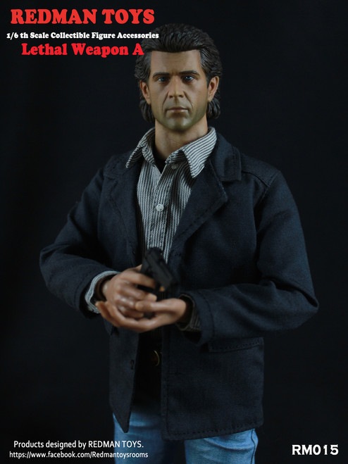 [RMT-015] Redman Lethal Collectible 1:6 Scale Figure Accessory A