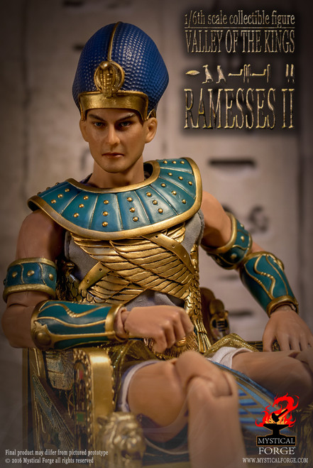 """[MF-002] Mystical Forge Valley of the kings """"Ramessess II"""" 1:6 Collector Boxed Figure"""