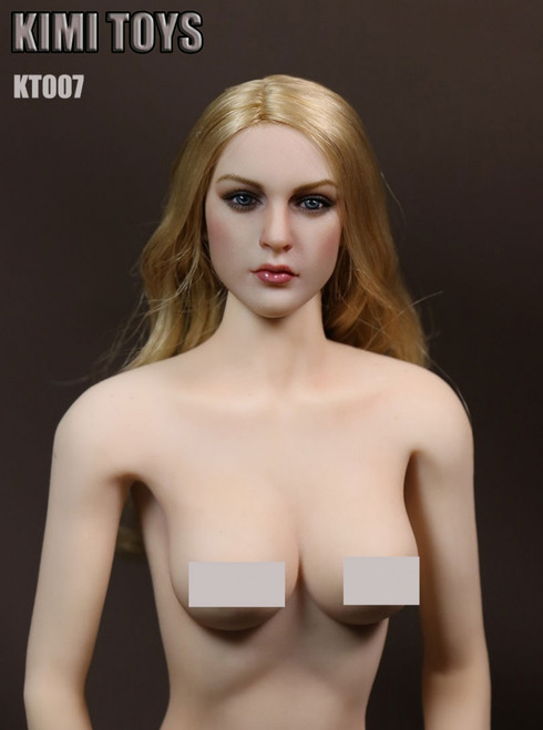 [KT-007] Kimi Toyz European and American Female Headsculpt for 1:6 Scale Figures