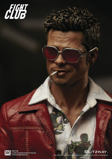 [BW-FC00324] Fight Club Red Jacket Version 1:6 Scale Boxed Figure by BLITZWAY