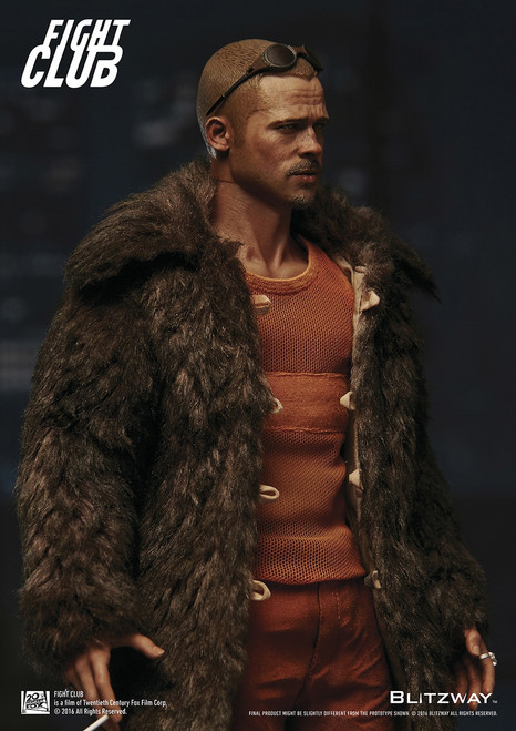 [BW-FC00325] Fight Club Fur Coat Version 1:6 Scale Boxed Figure by BLITZWAY