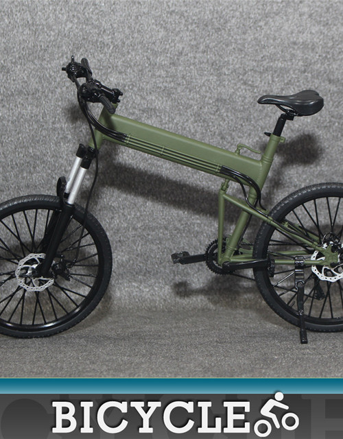 [XT-009D] 1:6 Scale Action Figure Folding Bike in Green