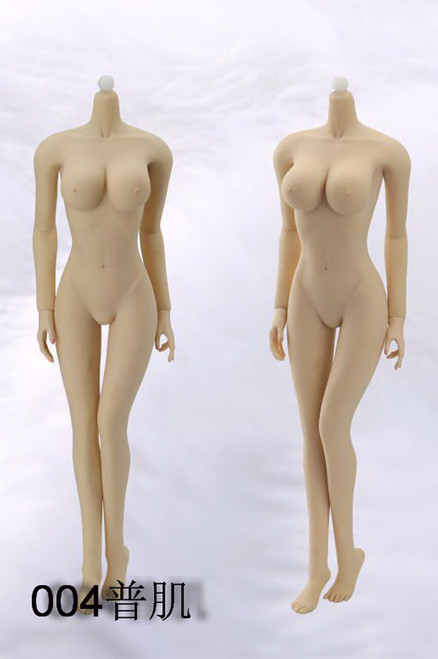 [JD-004] Jiaou Doll Female Seamless Body in Pale/Large Bust Size 1:6 Scale